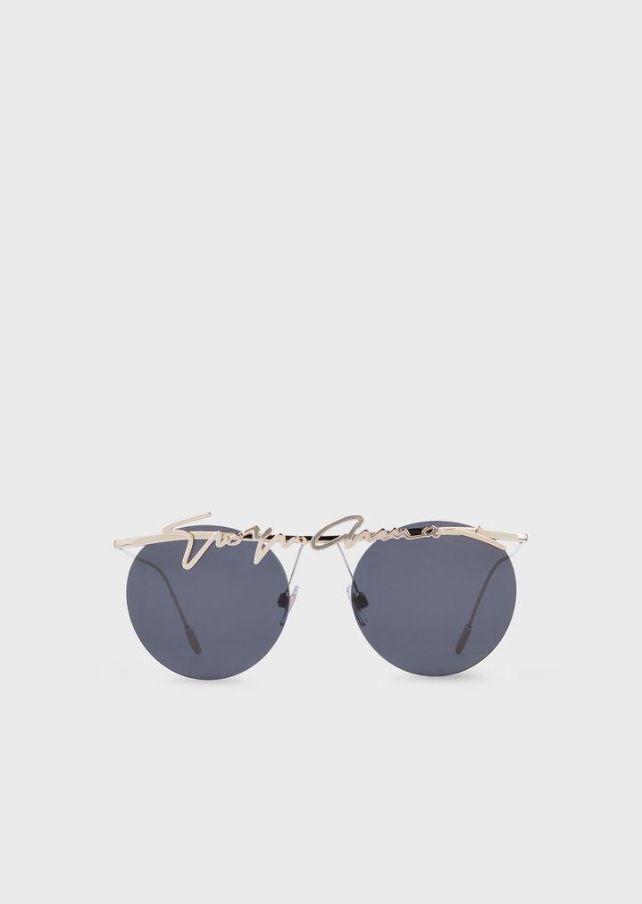 f1204248c1 Gafas de sol redondas sin montura | Mujer | Giorgio Armani