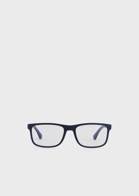 Man rectangular optical frame