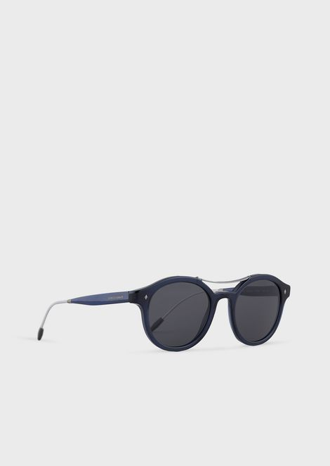 Round man sunglasses