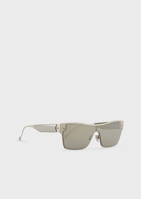Shield woman sunglasses