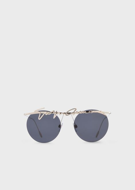85e0d98c74 Rimless round woman sunglasses
