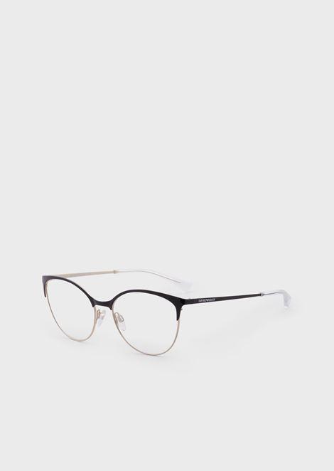 Woman cat eye optical frame
