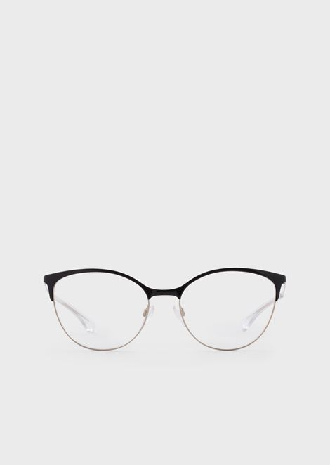 Woman cat eye optical frame