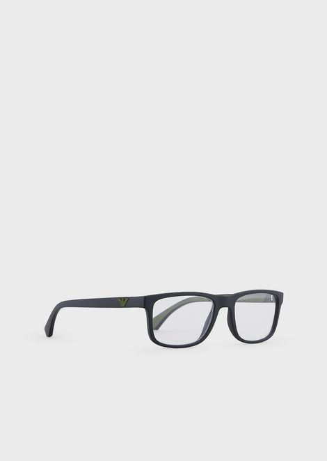 Man rectangular optical frame