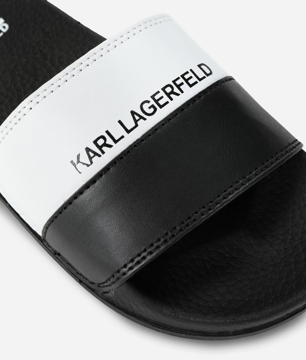 KARL LAGERFELD Logo Slides  Kids' Shoes Man d