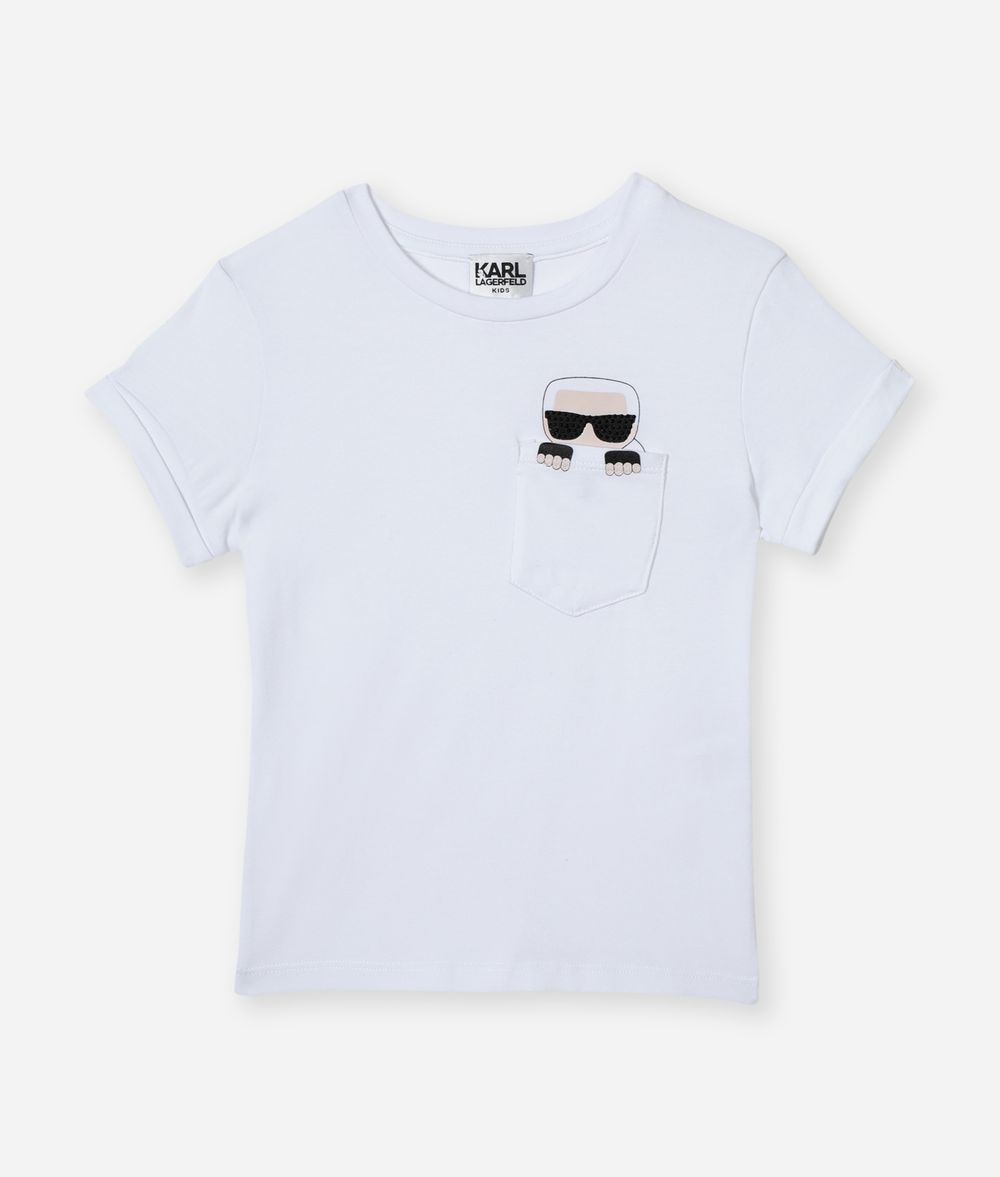 KARL LAGERFELD Karl Pocket T-Shirt Kids' T-Shirt Woman f