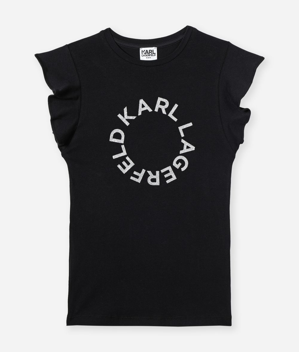 KARL LAGERFELD T-Shirt Logo Dress Kids' T-Shirt Woman f