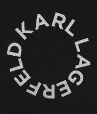 KARL LAGERFELD T-Shirt Logo Dress 9_f
