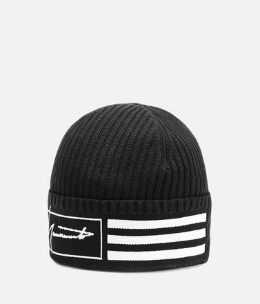 Y-3 Cappello E Y-3 Beanie 3-Stripes r