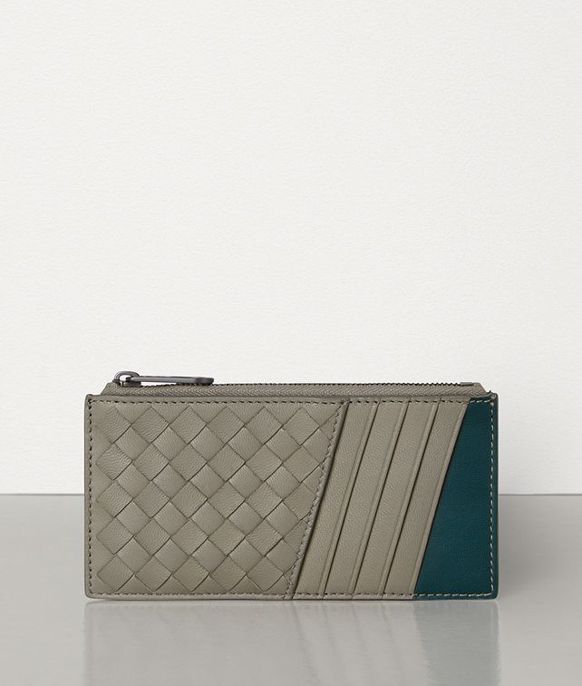 BOTTEGA VENETA MEDIUM CARD CASE IN INTRECCIATO NAPPA Card Case Man fp