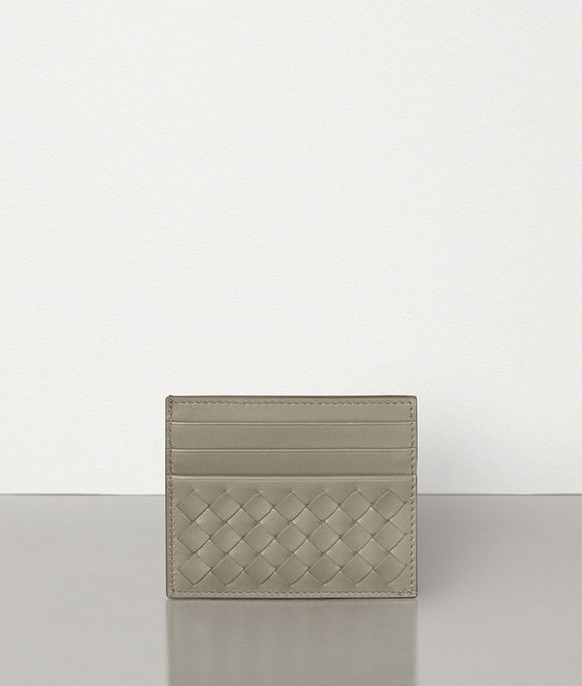 BOTTEGA VENETA SMALL CARD CASE IN INTRECCIATO VN Card Case Man fp
