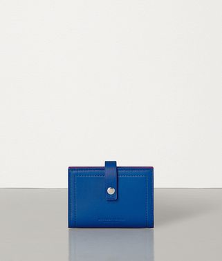CARD CASE IN NAPPA AND CALF