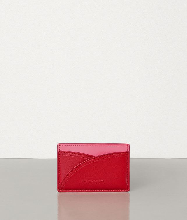 BOTTEGA VENETA CARD CASE IN NAPPA BICOLOR Card Case E fp