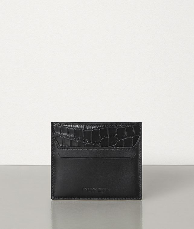 BOTTEGA VENETA SMALL CARD CASE IN ALLIGATOR AND CALF LEATHER Card Case [*** pickupInStoreShippingNotGuaranteed_info ***] fp