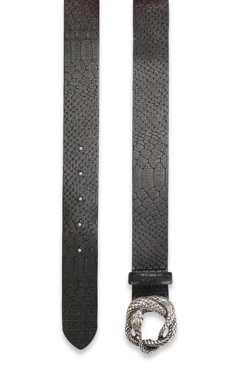 JUST CAVALLI Snake buckle belt Belt Man d