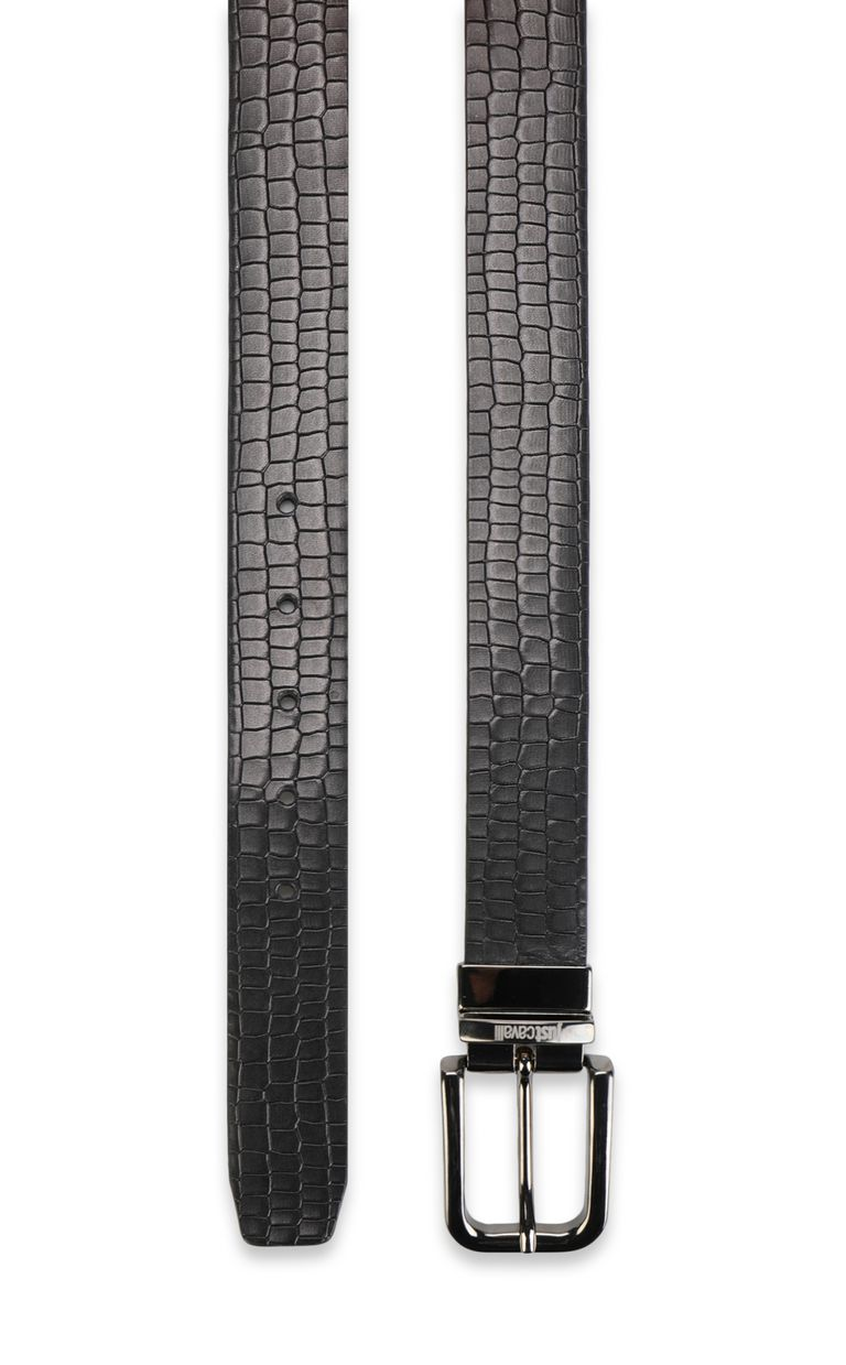 JUST CAVALLI Crocodile-skin-effect belt Belt Man d