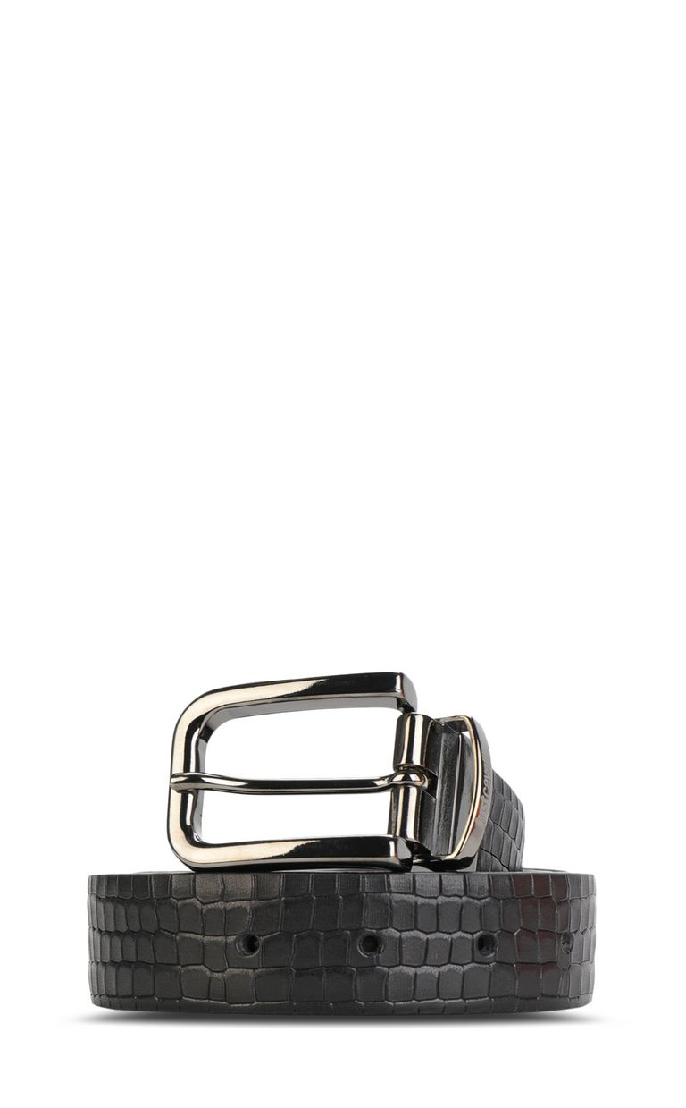 JUST CAVALLI Crocodile-skin-effect belt Belt Man f