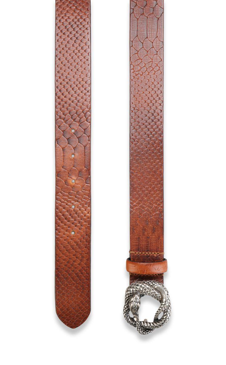 JUST CAVALLI Snake buckle belt Belt Man d