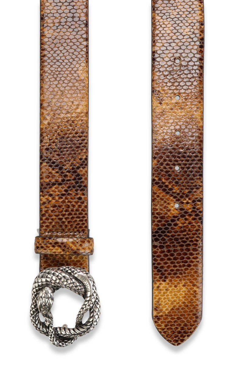 JUST CAVALLI Python-print belt Belt Woman d
