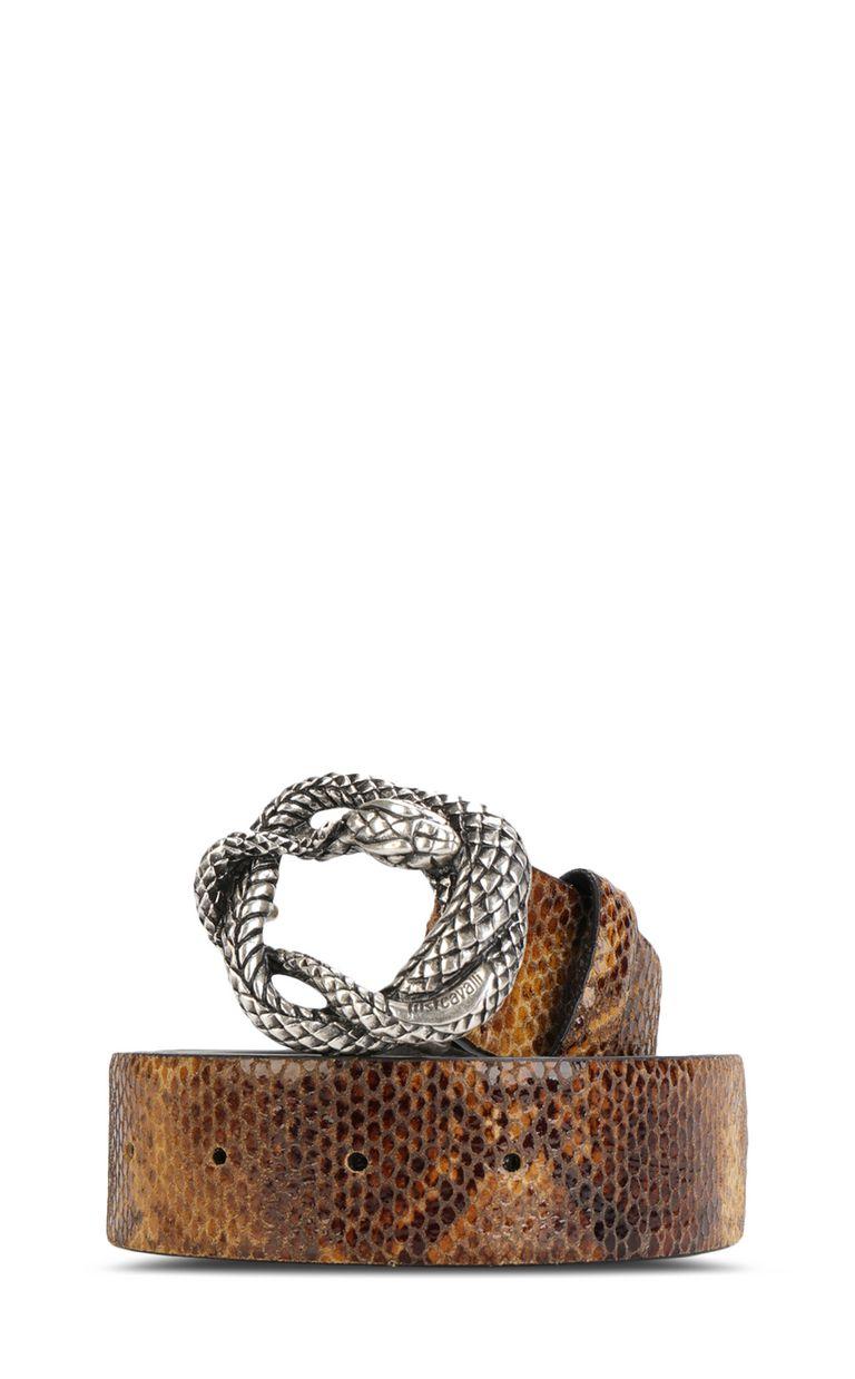 JUST CAVALLI Python-print belt Belt Woman f