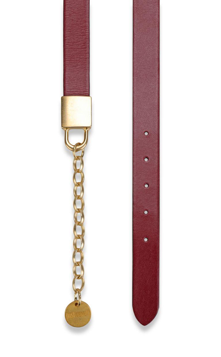 JUST CAVALLI Belt with padlock buckle Belt Woman d