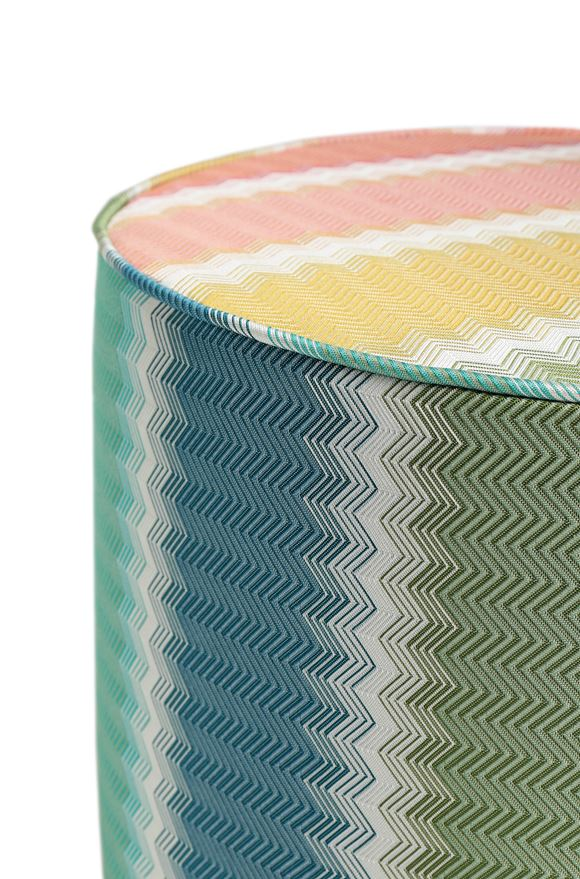 MISSONI HOME WESTMINSTER CYLINDER POUF E, Rear view