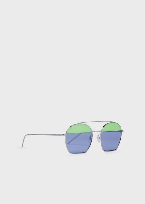 Runway woman sunglasses