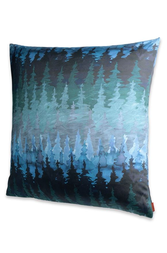 MISSONI HOME WINTERTHUR CUSHION Deep jade E