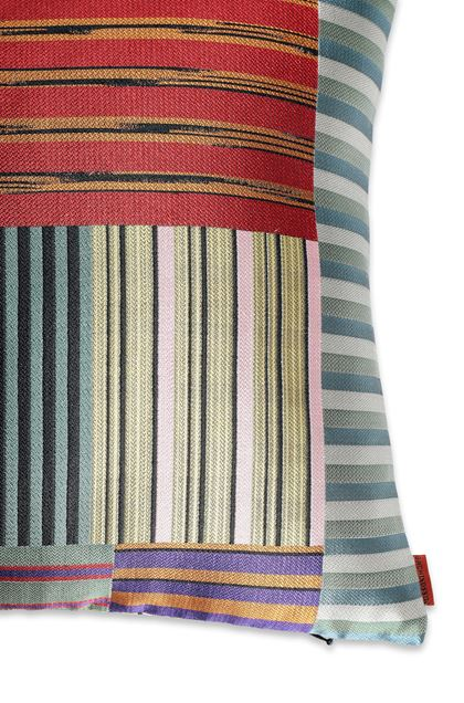 MISSONI HOME WINSLOW  CUSHION Brick red E - Front