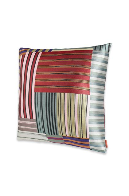 MISSONI HOME WINSLOW  CUSHION Brick red E - Back