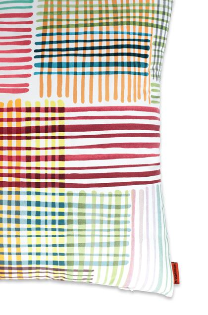 MISSONI HOME WILLIS CUSHION White E - Front