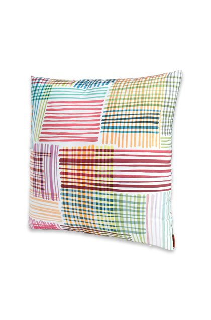 MISSONI HOME WILLIS CUSHION White E - Back