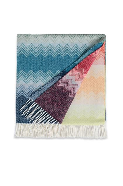 MISSONI HOME WALT THROW Ivory E - Back