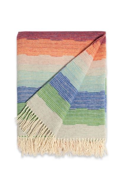 MISSONI HOME WESLEY THROW Beige E - Back