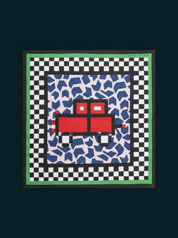 Marni MARNI MARKET bandana in cotton car motif Man