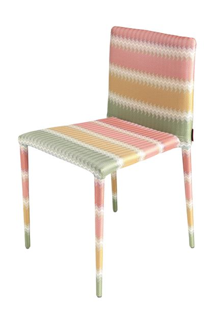 MISSONI HOME MISS CHAIR Ochre E - Back
