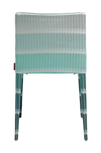 MISSONI HOME MISS CHAIR Turquoise E - Front