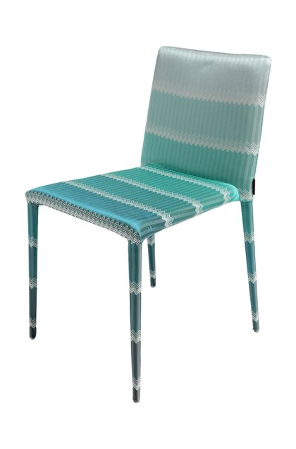 MISSONI HOME MISS CHAIR Turquoise E - Back