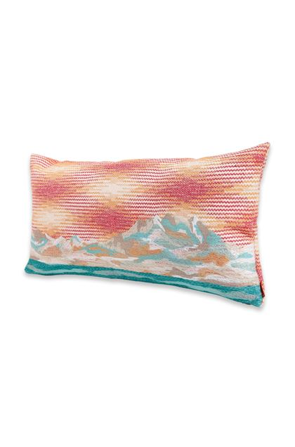 MISSONI HOME WIMILLE CUSHION Orange E - Back