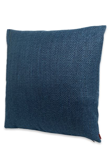 MISSONI HOME OJUS  CUSHION Blue E - Back