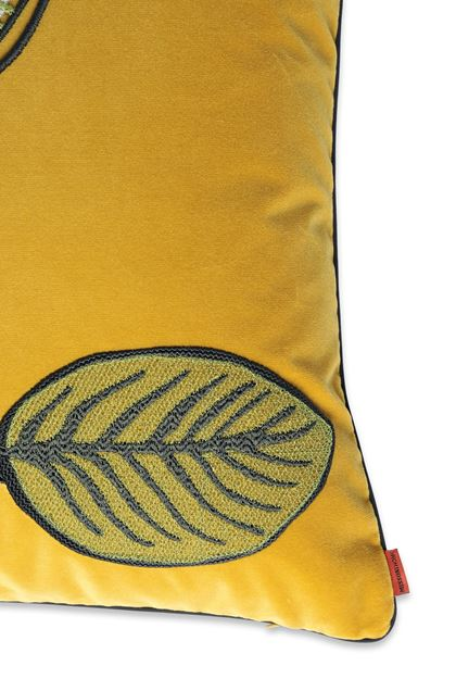 MISSONI HOME WAILUA_RICAMATO  CUSHION Ochre E - Front