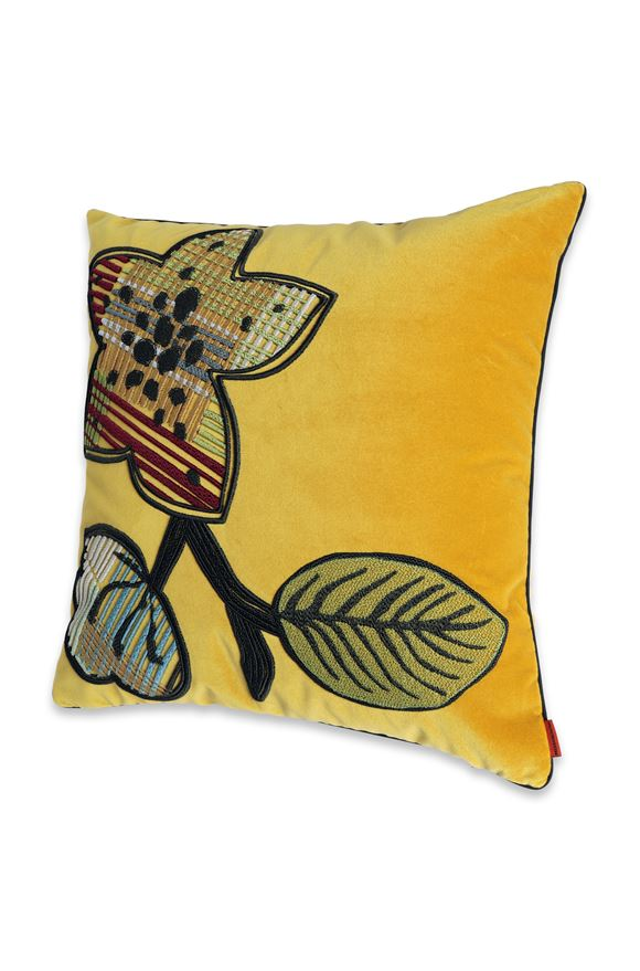 MISSONI HOME WAILUA_RICAMATO  CUSHION Ochre E