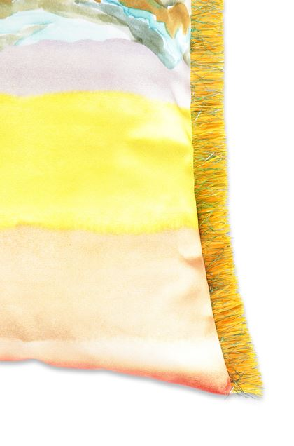 MISSONI HOME WIMEREUX CUSHION Yellow E - Front