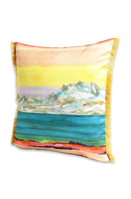 MISSONI HOME WIMEREUX CUSHION Yellow E - Back