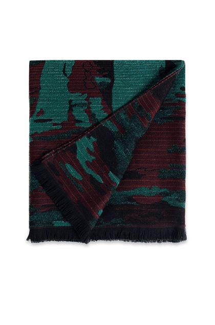 MISSONI HOME WOODROW THROW Maroon E - Back