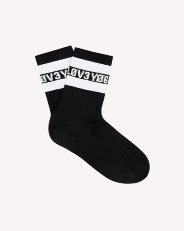 REDValentino SR3KIA004GP 0NI Socks Woman a