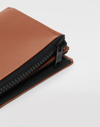 ACCESSORIES Leather wallet Tan