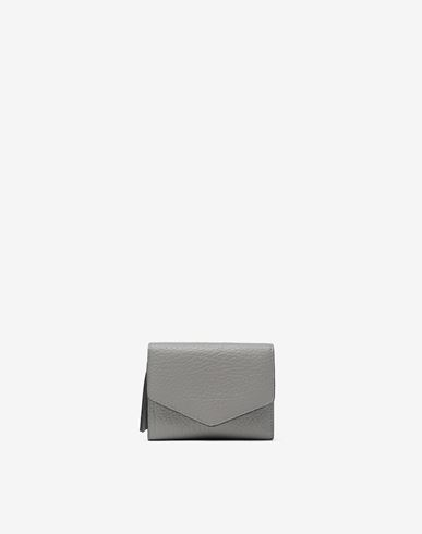 ACCESSORIES Envelope leather wallet