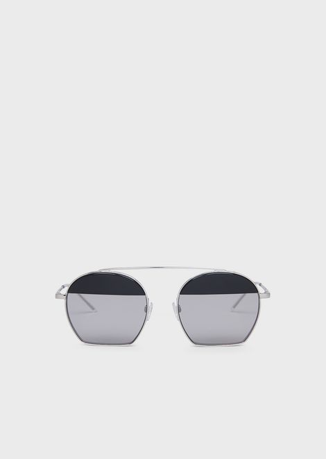 Runway woman sunglasses