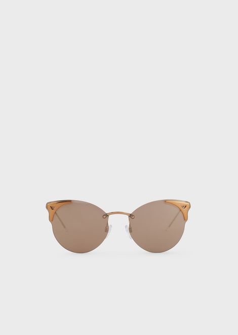 Occhiali da sole cat-eye donna